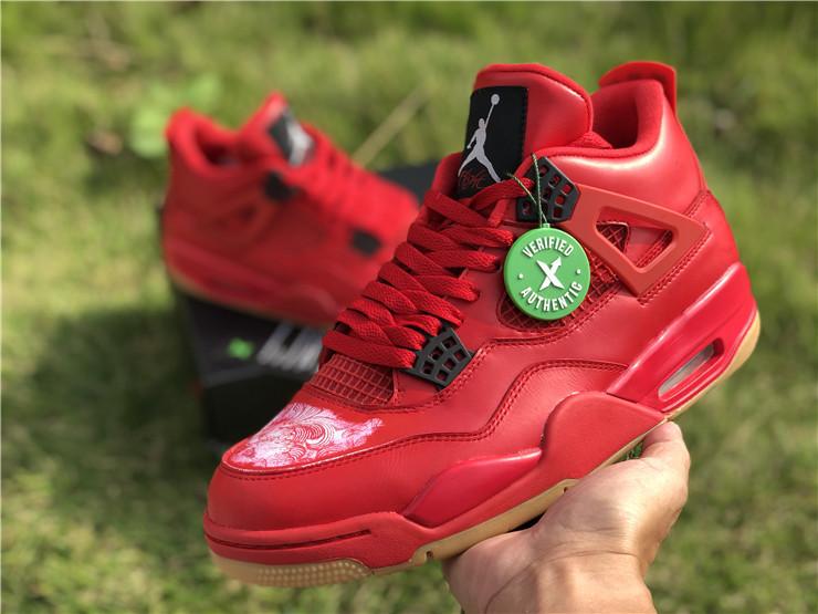 2018 New Air Jordan 4 Retro NRG Fire