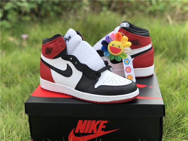 "Air Jordan 1 Retro BG ""Black Toe"" Girls"