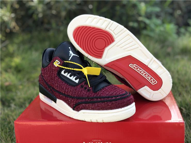 Pantano Preferencia Caballero  Buy Vogue Air Jordan 3 Retro Anna Wintour AWOK For Men