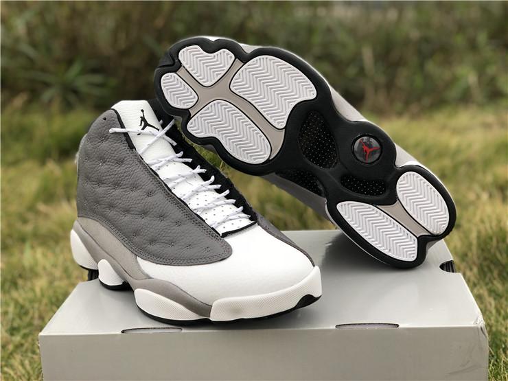 2019 Cheap Air Jordan 13 Atmosphere Grey Basketball Shoes For Men