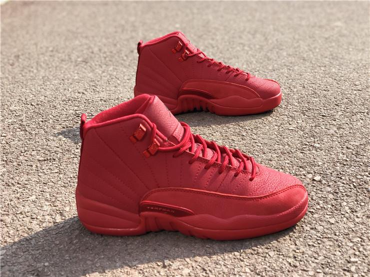 Buy Girls Air Jordan 12 Bulls Gym Red
