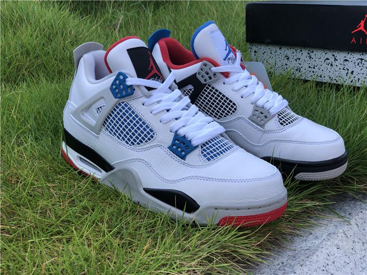 """Air Jordan 4 """"What The"""" Men Shoes"""