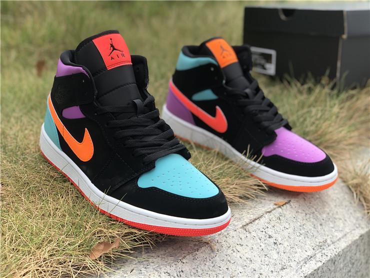 Air Jordan 1 High Multi Color Shoes