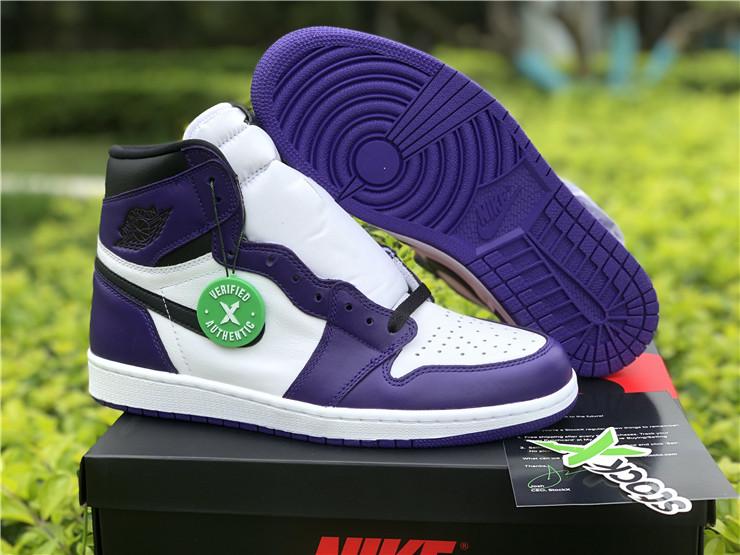air jordan 1 og court purple