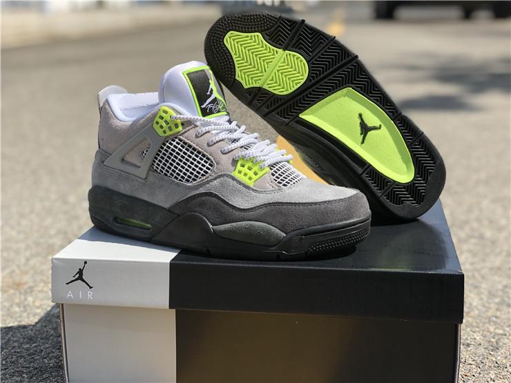 2020 Air Jordan 4 Se Neon Grey Air Max 95 Neon Ct5342 007