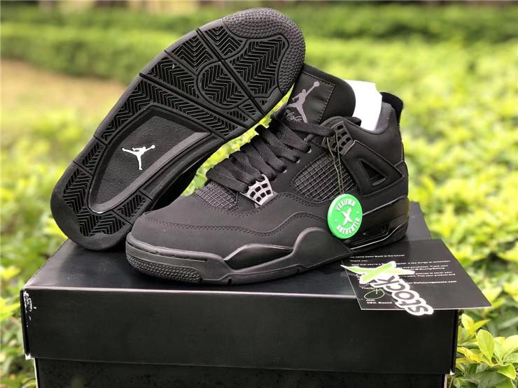 2020 Mens Air Jordan 4 Black Cat