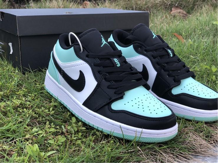 2020 Air Jordan 1 Retro Low Emerald Toe