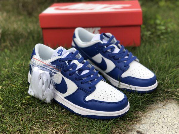 2020 Nike Dunk Low Kentucky Blue For Sale CU1726-100-7