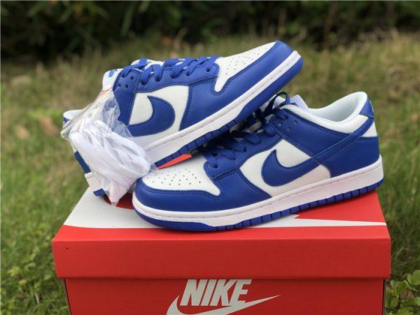 2020 Nike Dunk Low Kentucky Blue For Sale CU1726-100-6