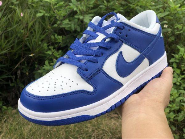 2020 Nike Dunk Low Kentucky Blue For Sale CU1726-100-5