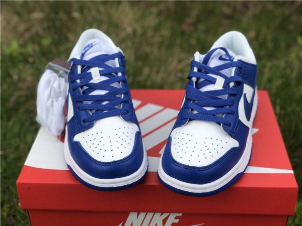 2020 Nike Dunk Low Kentucky Blue For Sale CU1726-100-3