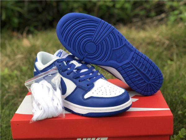 2020 Nike Dunk Low Kentucky Blue For Sale CU1726-100