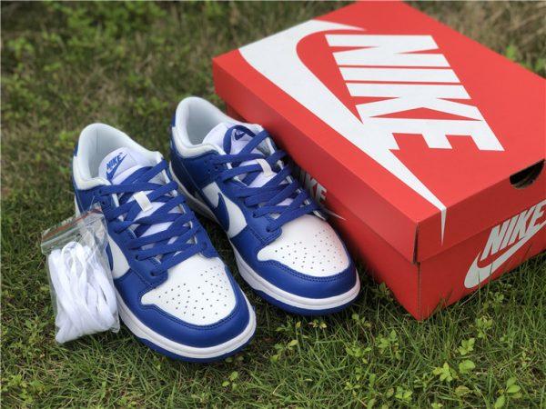 2020 Nike Dunk Low Kentucky Blue For Sale CU1726-100-1