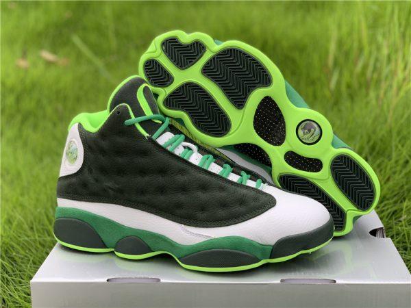 Air Jordan 13 Retro Oregon Ducks PE Lucky Green For Sale AR4390-313