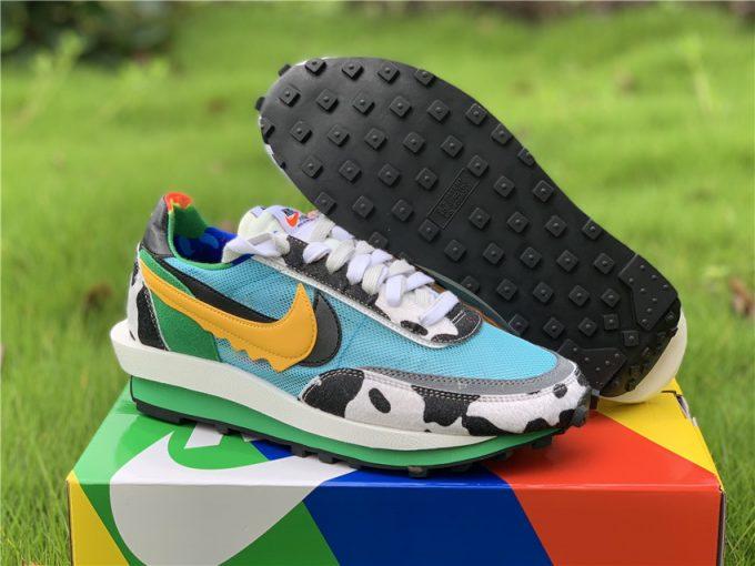 Custom Ben & Jerry's x Sacai x Nike LDV Waffle Daybreak Chunky Dunky CN8899-006