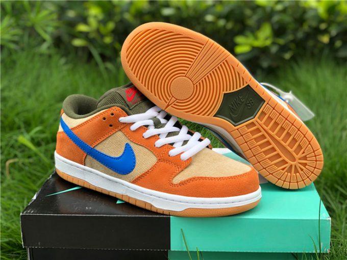 Nike SB Dunk Low Corduroy Dusty Peach For Sale BQ6817-201