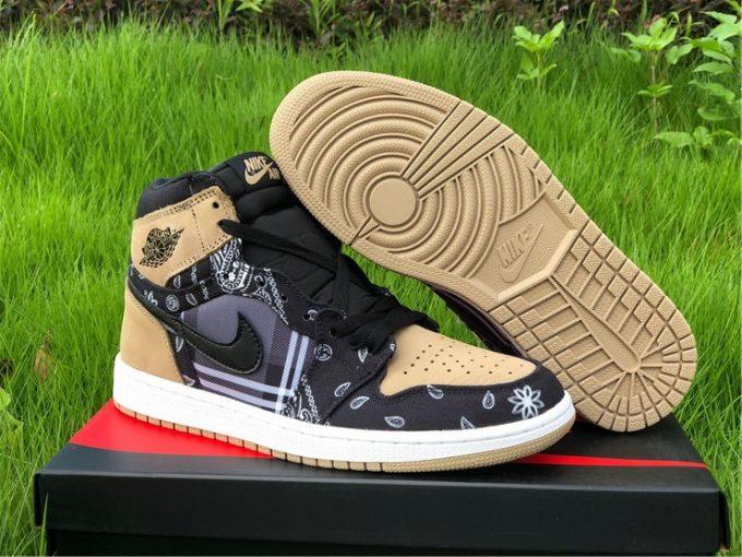 Travis Scott x Air Jordan 1 High OG Jackboys Men's Size CK5088-001