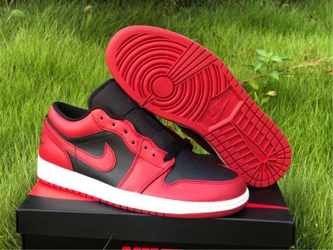 2020 Air Jordan 1 Low 85 Varsity Red Bred On Sale 553558-606