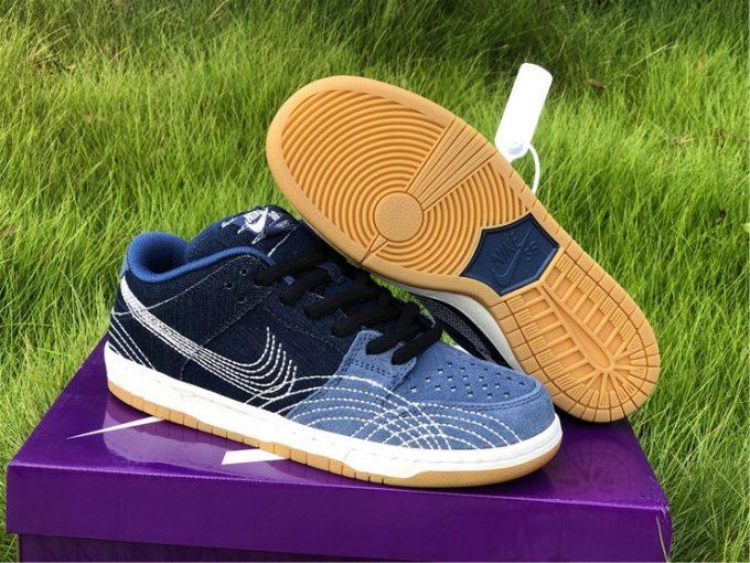 2020 Release Nike SB Dunk Low PRM Sashiko CV0316-400