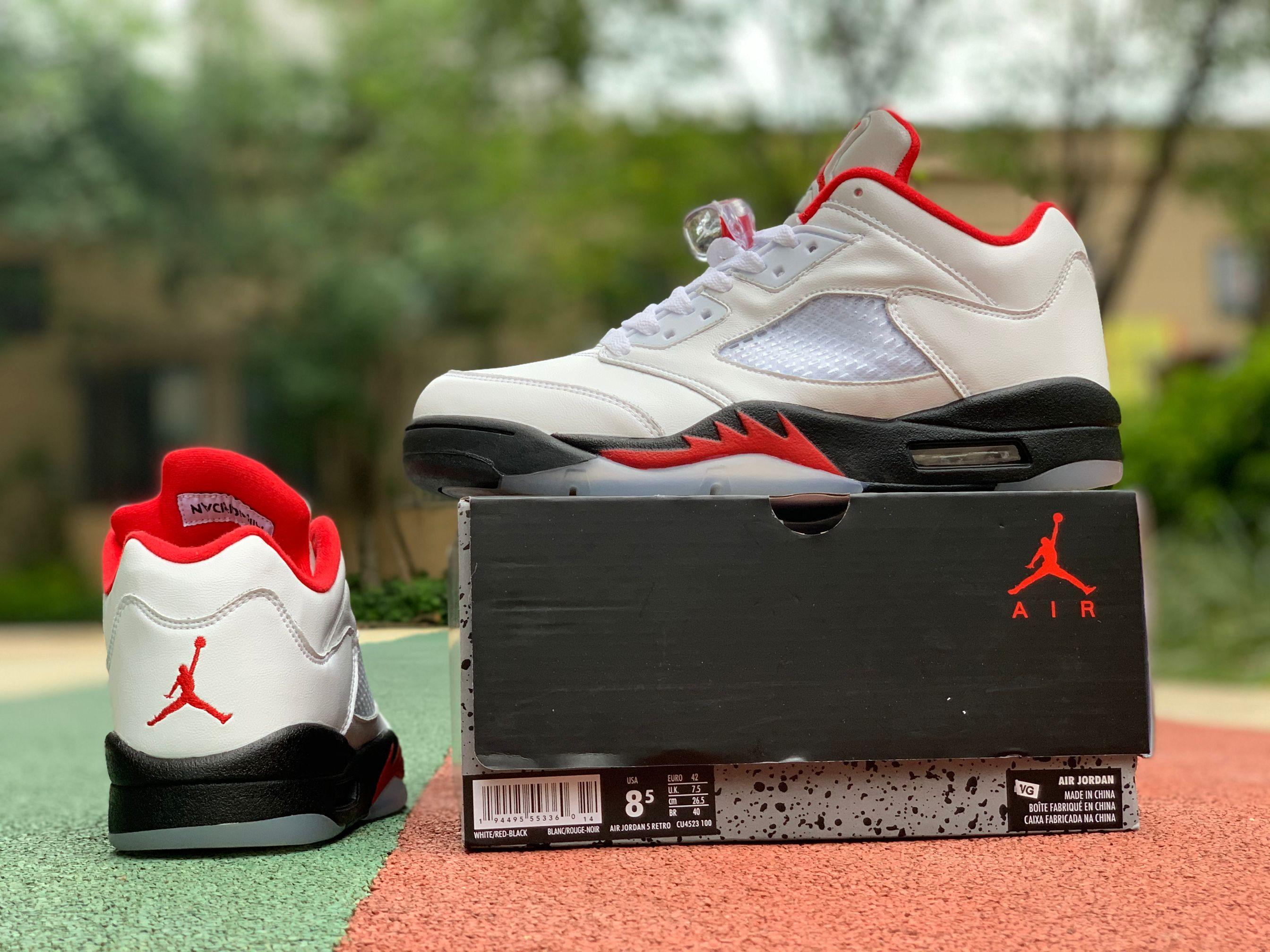 """Air Jordan 5 Low Golf """"Fire Red"""" Men's"""