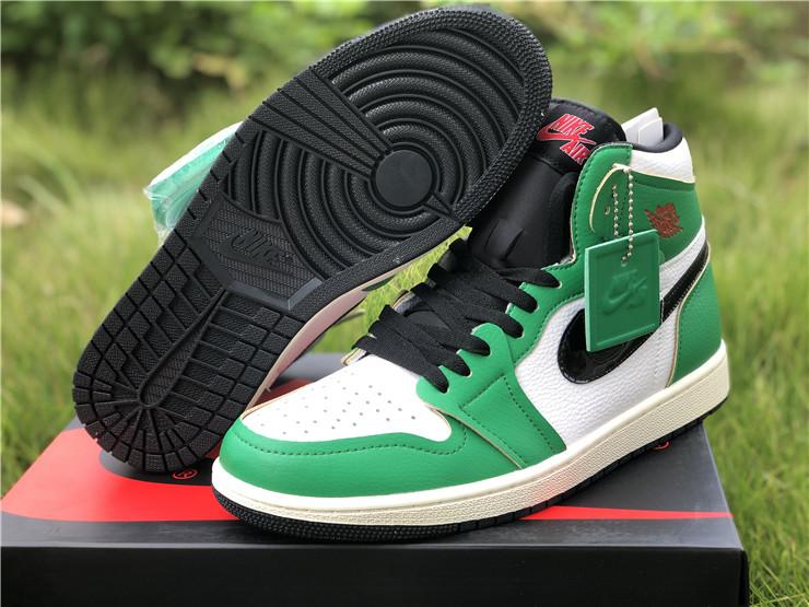 "Cheap Air Jordan 1 Retro High OG ""Lucky Green"" Shoes DB4612-300"