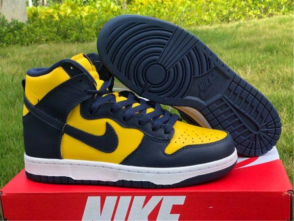 2020 Cheap Nike Dunk High Michigan To Buy CZ8149-700