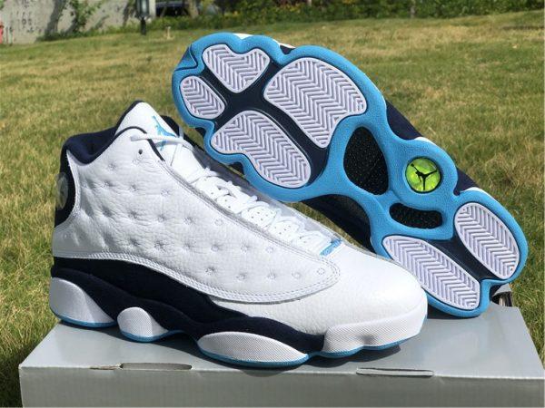 2021 Mens Air Jordan 13 Dark Powder Blue For Cheap 414571-144