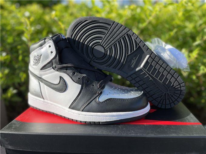 2021 Air Jordan 1 High OG Silver Toe To Buy CD0461-001