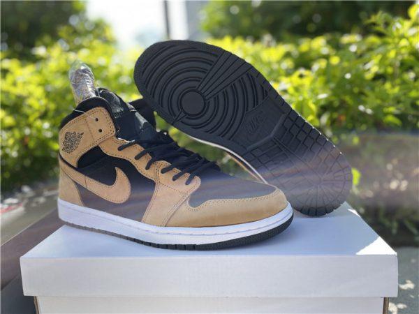 Buy Cheap Air Jordan 1 Mid Wheat Sneakers DB5453-700