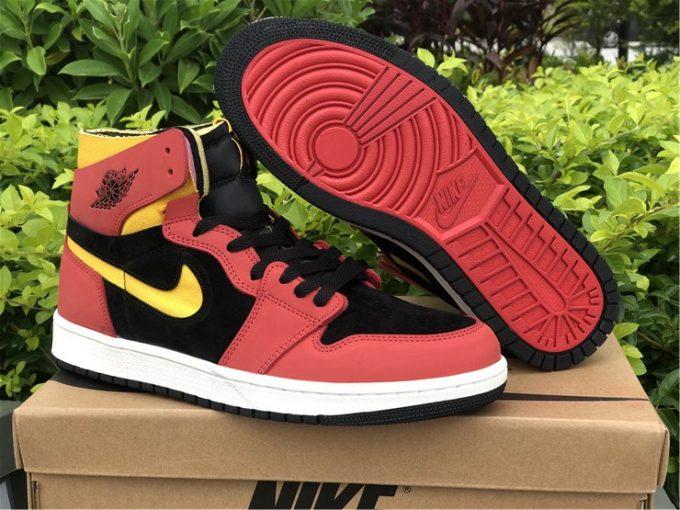 Mens Air Jordan 1 Zoom Comfort Chile Red Best Selling CT0978-006