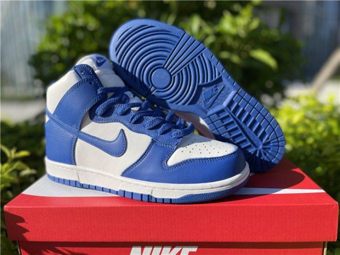 Nike Dunk High QS Be True White/Varsity Basketball Shoes 850477-100