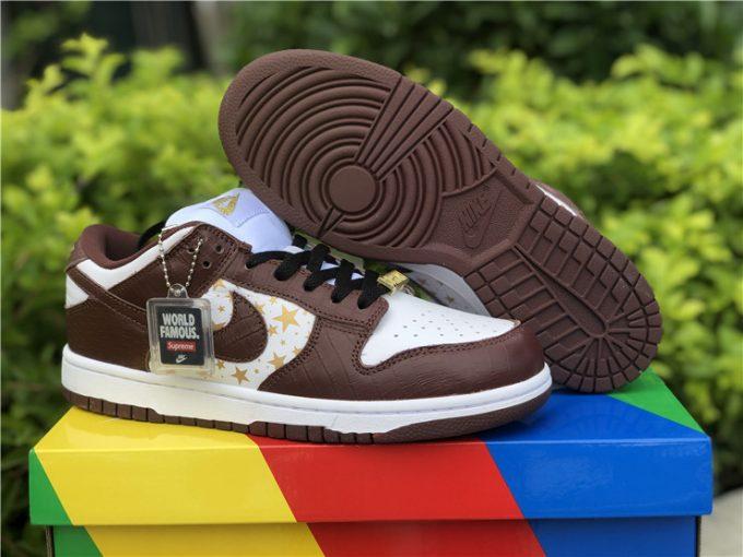Supreme x Nike SB Dunk Low Barkroot Brown On Sale DH3228-103
