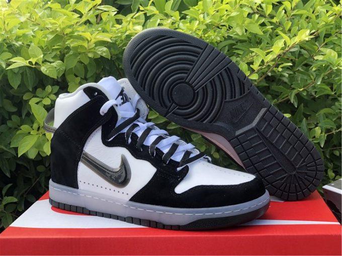 Slam Jam x Nike Dunk High Clear Black Sneakers DA1639-101