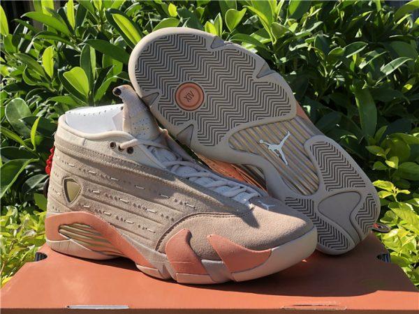 CLOT x Air Jordan 14 Low Sepia Stone Terra Blush Desert Sand To Buy DC9857-200