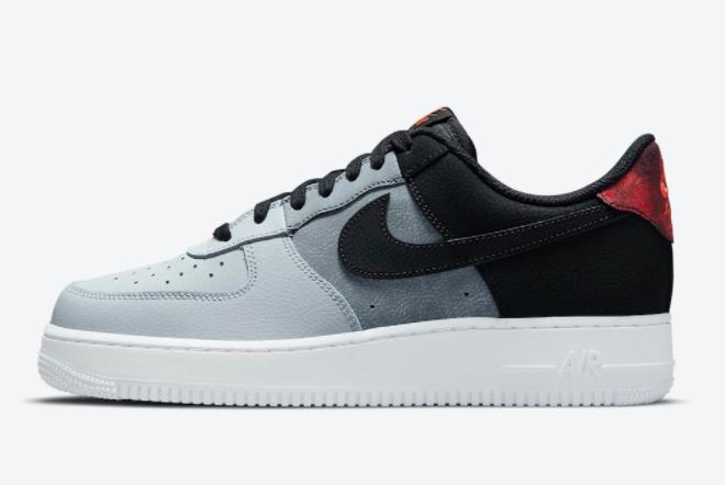 2021 Cheap Nike Air Force 1 Low Black Smoke Grey CZ0337-001