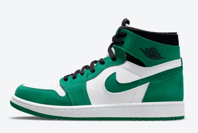 2021 Latest Air Jordan 1 Zoom CMFT Stadium Green Sneaker CT0978-300