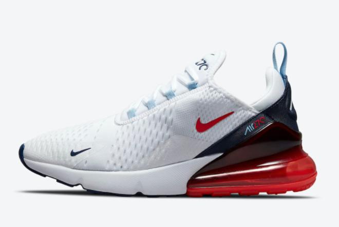 2021 Nike Air Max 270 USA Running Shoes DJ5172-100