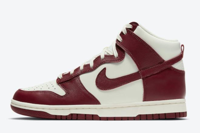 Cheap Nike Dunk High Team Red For Sale DD1869-101