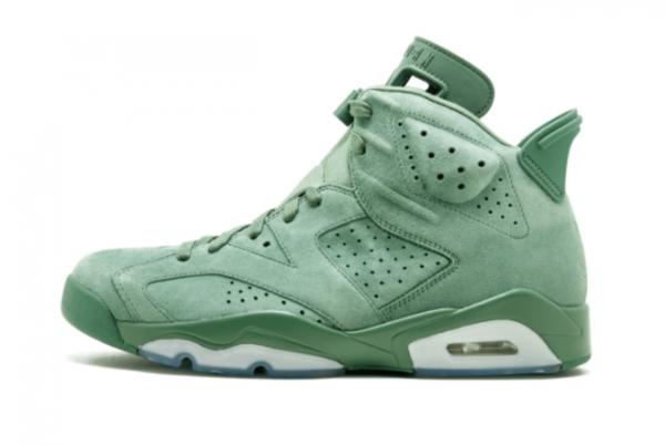 Macklemore x Air Jordan 6 Retro Cactus Mens Basketball Shoes 522201-520