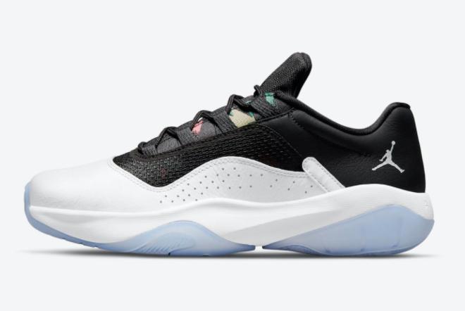 2021 Air Jordan 11 CMFT Low White Black Sneakers Sale CW0784-104