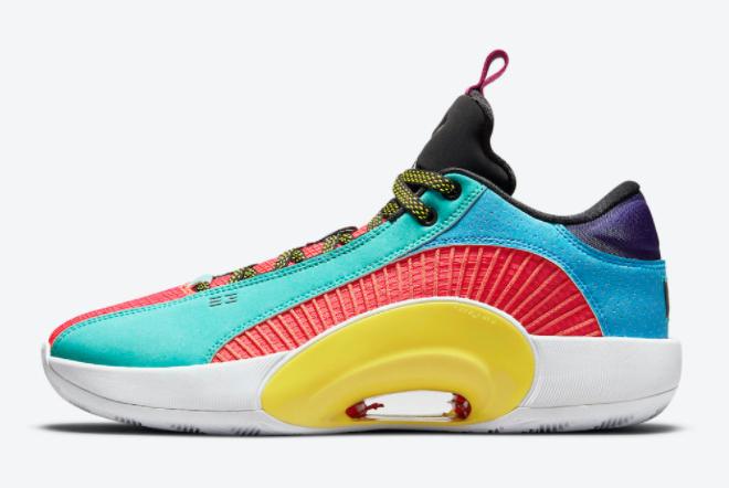 2021 Air Jordan 35 Low Reflexology Basketball Shoes DJ2831-300