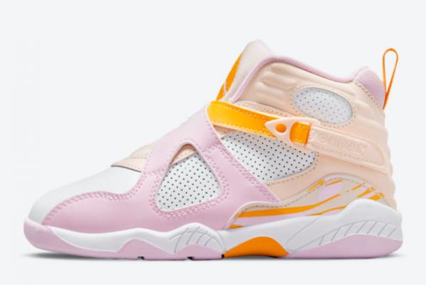 2021 Air Jordan 8 GS Arctic Punch Girls's Shoes 580529-816