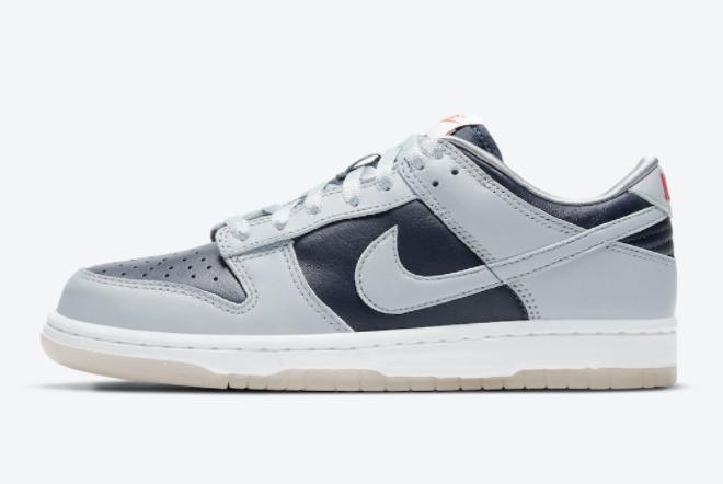 2021 Nike Dunk Low College Navy Online Sale DD1768-400