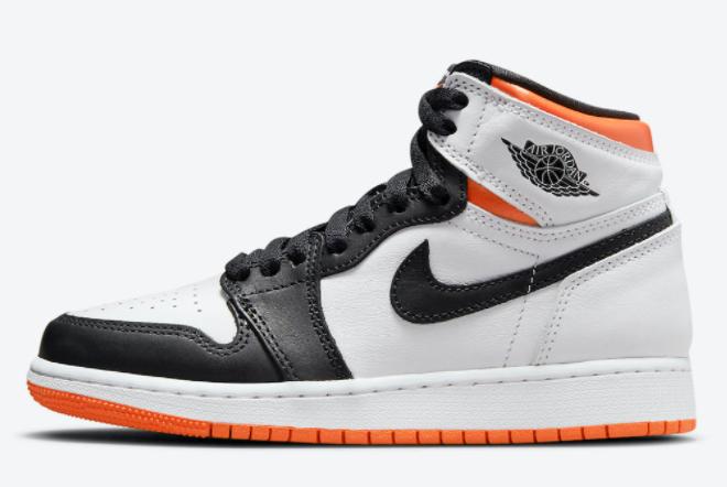 2021 Air Jordan 1 High OG Electro Orange Shoes Hot Sale 555088-180
