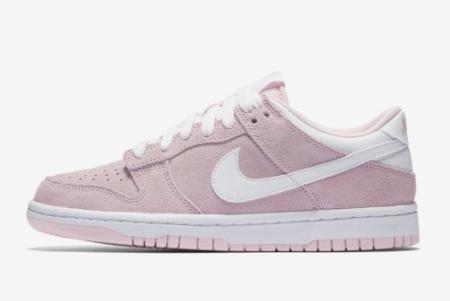 2021 Grade School Nike Dunk Low GS Prism Pink 309601-604