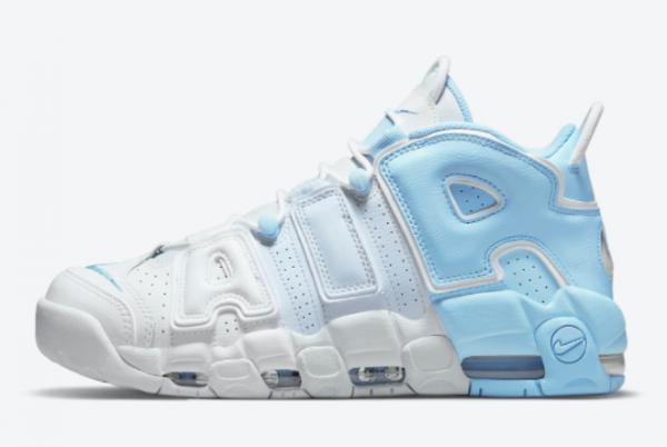 Buy Nike Air More Uptempo Sky Blue Basketball Shoes DJ5159-400
