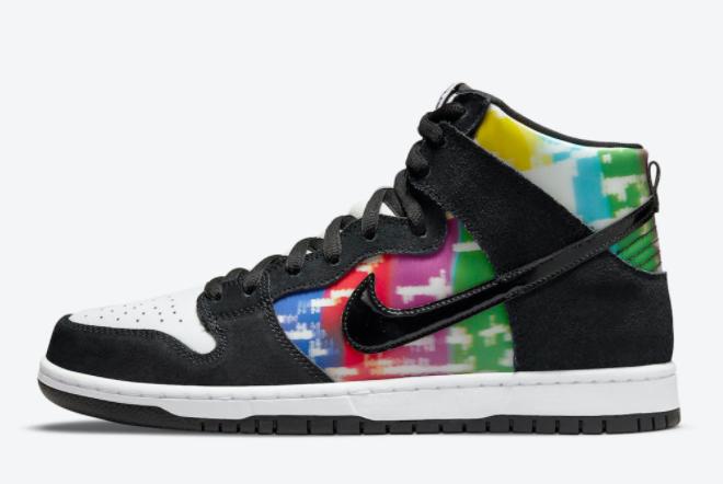 Nike SB Dunk High TV Signal Sneakers On Sale CZ2253-100
