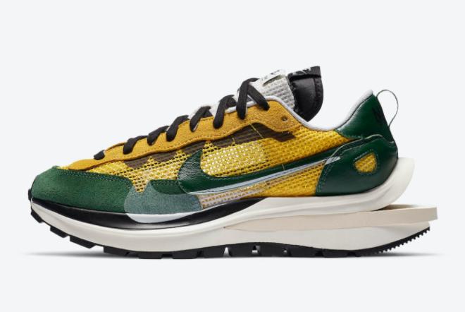 Sacai x Nike VaporWaffle Tour Yellow Training Shoes CV1363-700