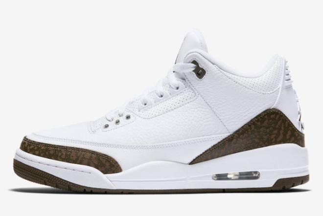Shop Air Jordan 3 Retro Mocha Sneakers 136064-122