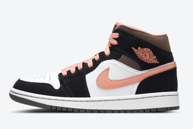 Women's Shoes Air Jordan 1 Mid SE Peach Mocha DH0210-100